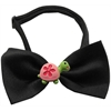 Mirage Pet Products Turtle Chipper Black Bow Tie