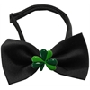 Mirage Pet Products Shamrock Chipper Black Bow Tie