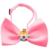 Mirage Pet Products Easter Chick Chipper Bubblegum Pink Bow Tie
