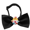 Mirage Pet Products Easter Chick Chipper Black Bow Tie
