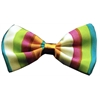 Mirage Pet Products Dog Bow Tie Funky Stripes