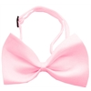Mirage Pet Products Plain Light Pink Bow Tie