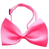 Mirage Pet Products Plain Hot Pink Bow Tie