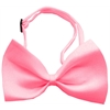 Mirage Pet Products Plain Bubblegum Pink Bow Tie