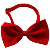 Mirage Pet Products Plain Red Bow Tie