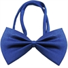 Mirage Pet Products Plain Blue Bow Tie