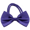 Mirage Pet Products Plain Purple Bow Tie