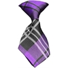 Mirage Pet Products Dog Neck Tie Plaid Purple