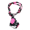 Mirage Pet Products Dog Neck Tie Pink Argyle Skull