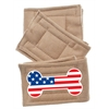 Mirage Pet Products Peter Pads Size LG USA Bone Flag 3 Pack
