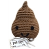Mirage Pet Products Knit Knacks Doodie the Poo Organic Cotton Small Dog Toy