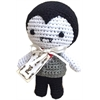 Mirage Pet Products Knit Knacks Dracula Organic Cotton Small Dog Toy
