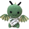Mirage Pet Products Knit Knacks Drogo the Dragon Organic Cotton Small Dog Toy