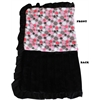 Mirage Pet Products Luxurious Plush Pet Blanket Pink Party Dots Full Size