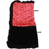 Mirage Pet Products Luxurious Plush Pet Blanket Red Western 1/2 Size
