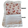 Mirage Pet Products Luxurious Plush Pet Blanket Foxy 1/2 Size