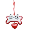Mirage Pet Products Cutie Paw Christmas Ornament