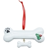 Mirage Pet Products Holly Bone Christmas Ornament