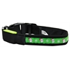 Mirage Pet Products LED Dog Collar Santa Size Small
