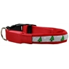Mirage Pet Products LED Dog Collar Christmas Tree Size Medium