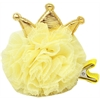 Mirage Pet Products Princess Puff Clip-on Yellow