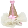 Mirage Pet Products Pretty Party Hat Clip-on Gold