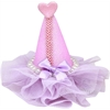 Mirage Pet Products Pretty Party Hat Clip-on Lavender