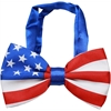 Mirage Pet Products Big Dog Bow Tie American Flag