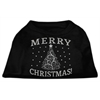 Mirage Pet Products Shimmer Christmas Tree Pet Shirt Black XXL (18)