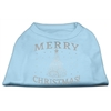 Mirage Pet Products Shimmer Christmas Tree Pet Shirt Baby Blue XXXL (20)