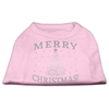 Mirage Pet Products Shimmer Christmas Tree Pet Shirt Light Pink XXXL (20)