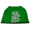 Mirage Pet Products Well Bless Your Heart Screen Print Dog Shirt Green XS (8)