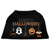 Mirage Pet Products Merry Halloween Screen Print Dog Shirt Black XS (8)