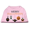 Mirage Pet Products Merry Halloween Screen Print Dog Shirt Light Pink XS (8)