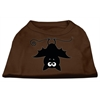 Mirage Pet Products Batsy the Bat Screen Print Dog Shirt Brown XS (8)