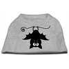 Mirage Pet Products Batsy the Bat Screen Print Dog Shirt Grey XS (8)
