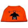 Mirage Pet Products Batsy the Bat Screen Print Dog Shirt Orange XS (8)