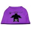 Mirage Pet Products Batsy the Bat Screen Print Dog Shirt Purple XL (16)