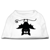 Mirage Pet Products Batsy the Bat Screen Print Dog Shirt White XXL (18)