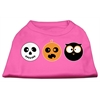 Mirage Pet Products The Spook Trio Screen Print Dog Shirt Bright Pink Lg (14)