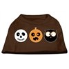 Mirage Pet Products The Spook Trio Screen Print Dog Shirt Brown Med (12)