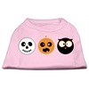 Mirage Pet Products The Spook Trio Screen Print Dog Shirt Light Pink XS (8)