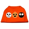 Mirage Pet Products The Spook Trio Screen Print Dog Shirt Orange XXL (18)