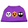 Mirage Pet Products The Spook Trio Screen Print Dog Shirt Purple XS (8)