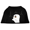 Mirage Pet Products Sammy the Ghost Screen Print Dog Shirt Black XS (8)