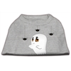 Mirage Pet Products Sammy the Ghost Screen Print Dog Shirt Grey Med (12)