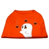 Mirage Pet Products Sammy the Ghost Screen Print Dog Shirt Orange Lg (14)