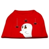 Mirage Pet Products Sammy the Ghost Screen Print Dog Shirt Red XS (8)