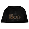 Mirage Pet Products Boo Rhinestone Dog Shirt Black Sm (10)