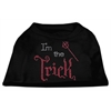 Mirage Pet Products I'm the Trick Rhinestone Dog Shirt Black XS (8)